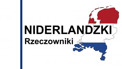 Niderlandzki rzeczowniki