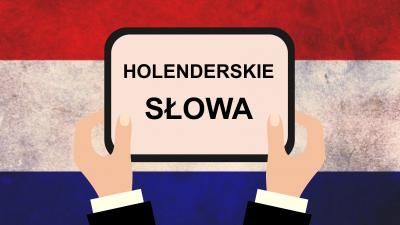 slowa holenderskie